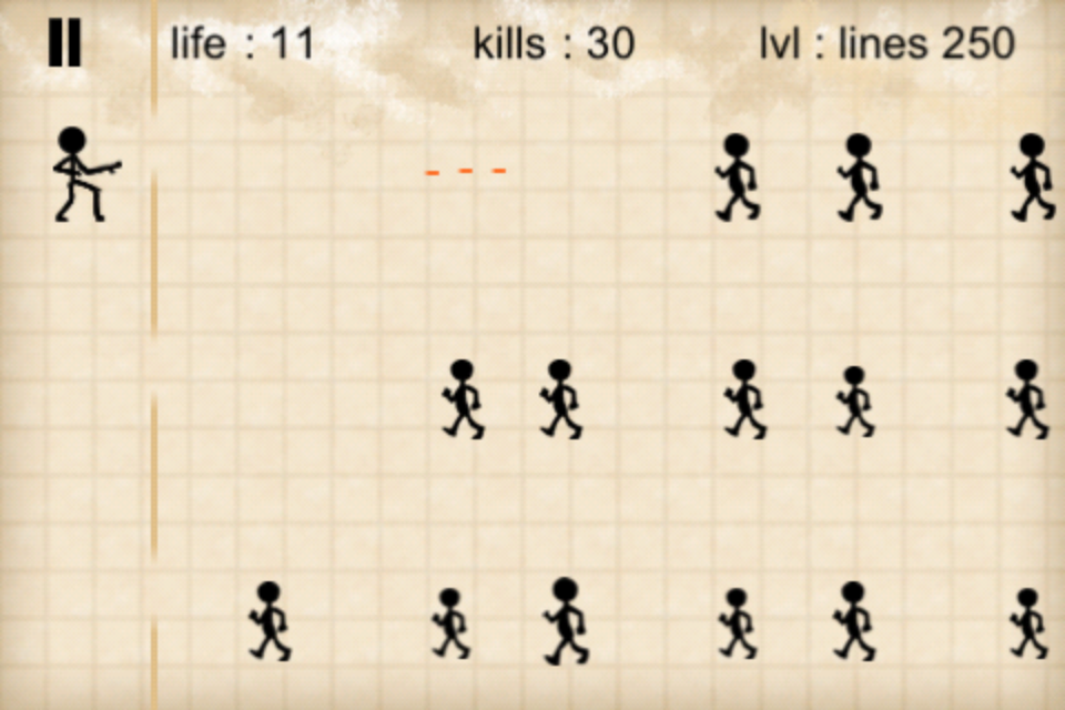 Screenshot stickman zombie
